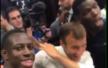 WATCH: Paul Pogba and Emmanuel Macron dab together during World Cup celebrations
