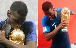 Paul Pogba has given his World Cup medal to the person who most deserves it
