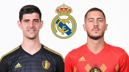 the best attitude ca4bb 6d6d0 Real Madrid launch massive bid for Eden Hazard and Thibaut ...