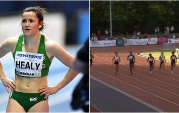Phil Healy sets new 200m Irish national record