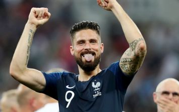 Olivier Giroud had a great response when asked about his World Cup drought