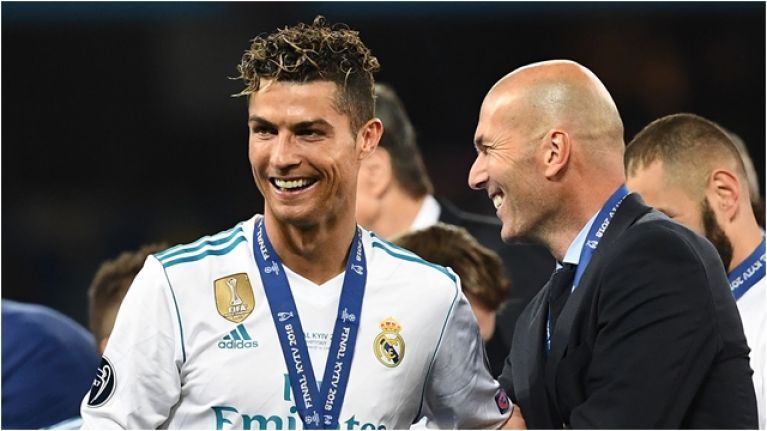 00230f90b72 Zinedine Zidane could be set for reunion with Cristiano Ronaldo at Juventus