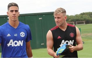 """Man United fans are thrilled that Luke Shaw """"finished top"""" of pre-season fitness tests"""