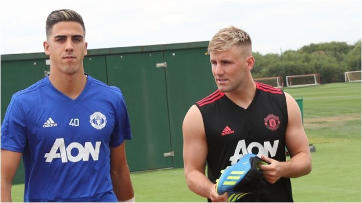 "Man United fans are thrilled that Luke Shaw ""finished top"" of pre-season fitness tests"