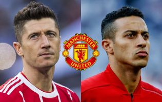 Manchester United plotting moves for Robert Lewandowski and Thiago Alcantara