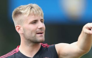 Jack Wilshere couldn't help but comment on Luke Shaw's new look