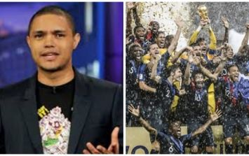 Daily Show host defends joke about 'Africa winning the World Cup'