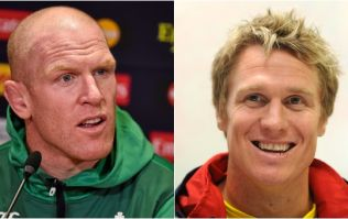 Jean De Villiers on how Paul O'Connell put his foot in it during Springbok dressing room visit