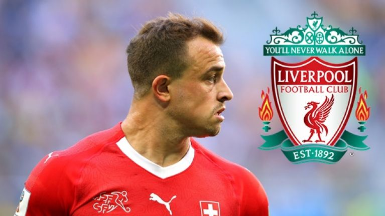 Liverpool close in on Shaqiri for bargain price