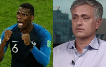 Jose Mourinho praises Paul Pogba after France's World Cup semi-final victory over Belgium