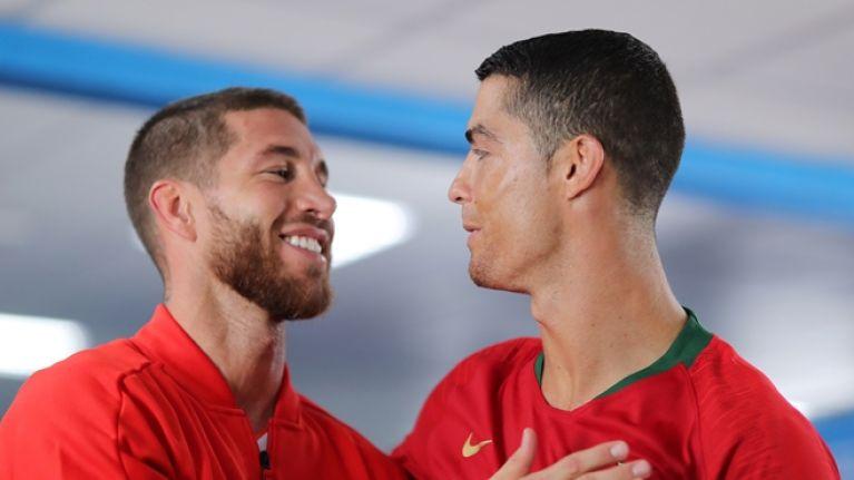 Sergio Ramos reacts to Cristiano Ronaldo's move to Juventus