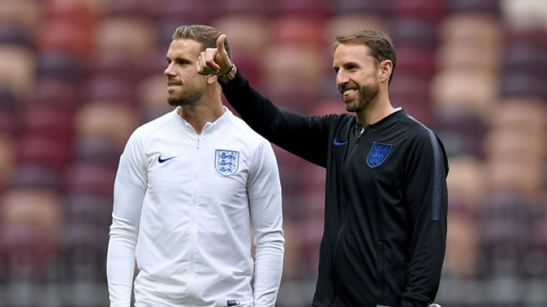 England have named their team to take on Croatia in World Cup semi-final