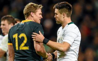 Springboks legend Jean De Villiers on two jersey swaps he treasures most