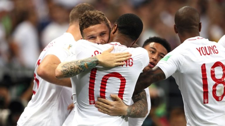 Everyone is raving about Kieran Trippier and his stunning free-kick finish