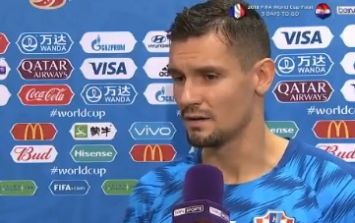 Dejan Lovren says with straight face that he is one of the world's best