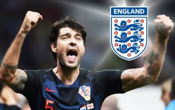 Cheeky Vedran Corluka haunts England with four perfect words