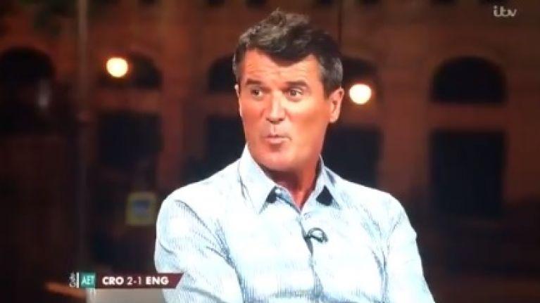 English reaction to Roy Keane was unanimous