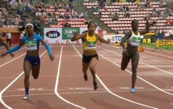 Huge upset as 16-year-old wins 100m gold at World Championships