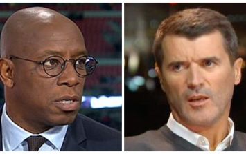 Ian Wright and Roy Keane have settled their differences after England World Cup argument