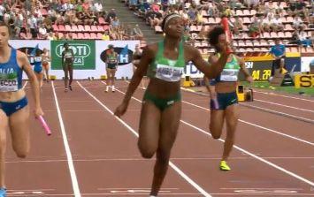 Ireland breeze into 400m relay world final with lightning heat