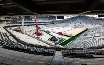 Intruder parachutes into Tottenham Hotspur's new stadium