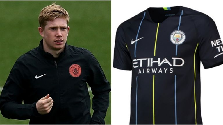 promo code b5a1d bc8a7 Man City's new away kit is reminiscent of one of their most ...