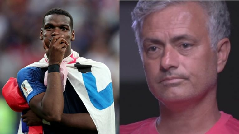 Jose Mourinho explains why Paul Pogba plays better for France than he does for Man United