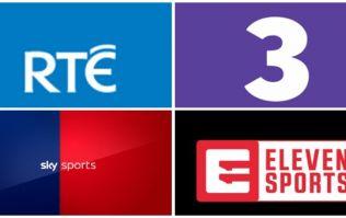 Full broadcasting guide to the Irish sporting season