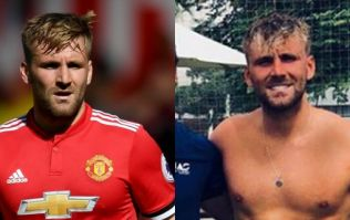 Luke Shaw has a theory on why people are slagging off his physique