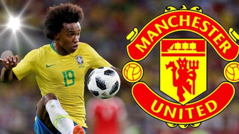 Chelsea set to accept €75m Man United offer for Willian