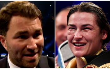Eddie Hearn calls it perfectly about Katie Taylor being known as a female boxer