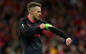 Chelsea are reportedly preparing late bid for Aaron Ramsey