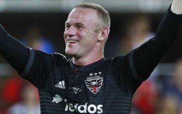 Wayne Rooney's first MLS goal was scored against an old Man United teammate