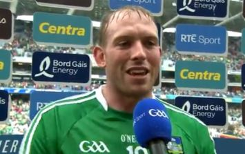 Super-sub Shane Dowling delivers stirring speech after Limerick victory