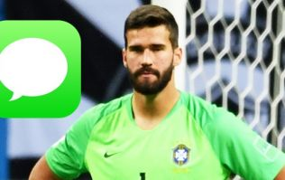 Mo Salah sent an impatient text to Alisson trying to hurry up Liverpool move
