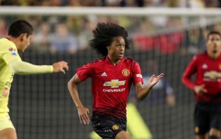 New kid on the block ripped it up in United's pre-season opener