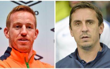 Gary Neville defends the signing of Ireland striker Adam Rooney