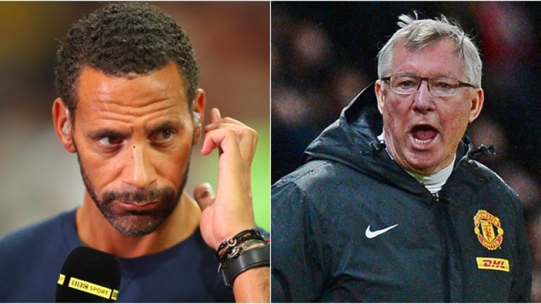 Rio Ferdinand shares brilliant tale about dressing room argument with Alex Ferguson