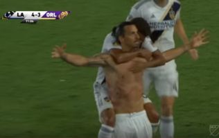 Watch: Zlatan Ibrahimovic nets his first hat-trick in the MLS