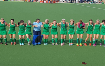 The Ireland women's Masters side doing our country proud overseas
