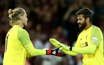 Anfield gave Loris Karius a massive reception when he came off the bench for Liverpool