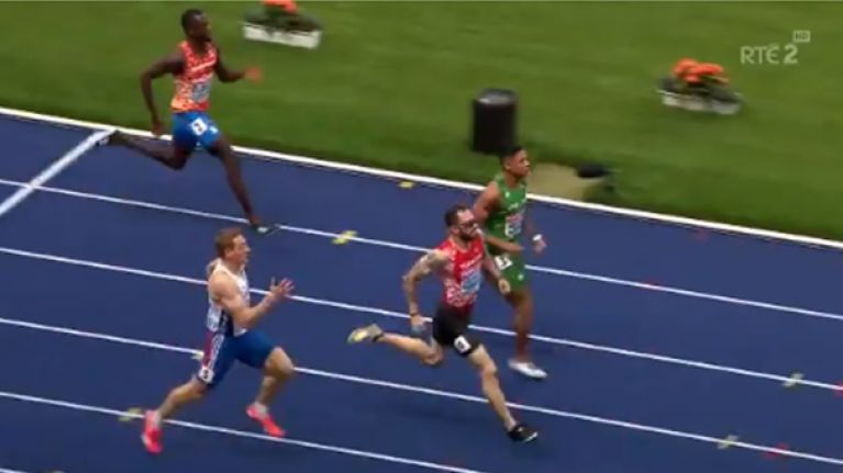 Irish sprinter qualifies for European 200m final with blistering run