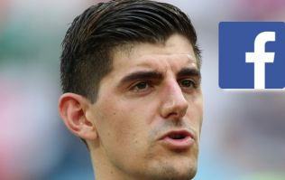 Thibaut Courtois deletes Facebook post after serious backlash