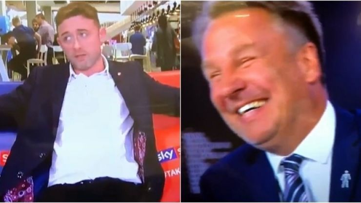 Paul Merson in stitches after bang-on Conor Moore impression