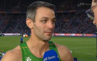 Thomas Barr gives funny, heart-warming interview on RTE after bronze medal win