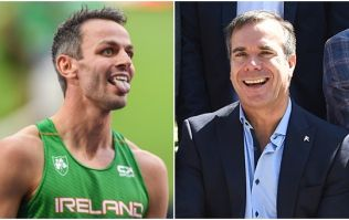 Peter Collins follows through on Sonia O'Sullivan bet after Thomas Barr bronze
