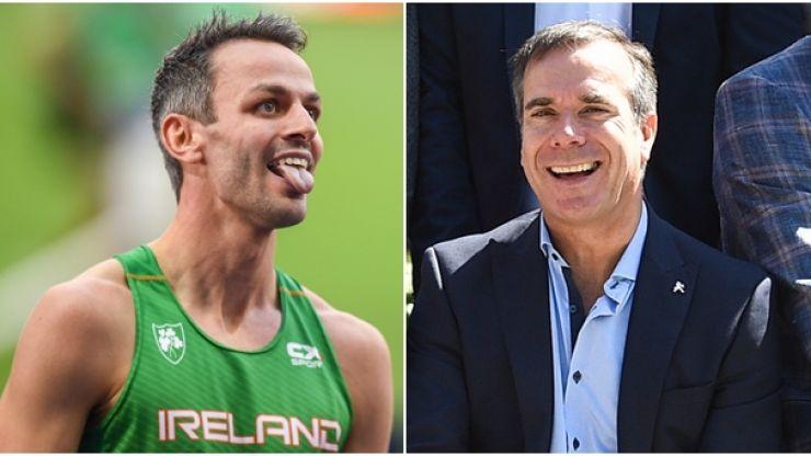 Peter Collins follows through on Sonia O'Sullivan bet after Thomas Barr bronze