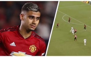 Andreas Pereira destroys Real Madrid press with pure skill
