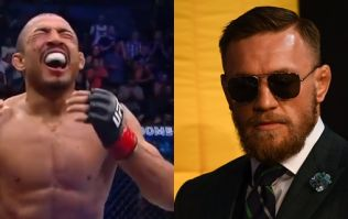 Not even Conor McGregor could escape the raw emotion of Jose Aldo's victory
