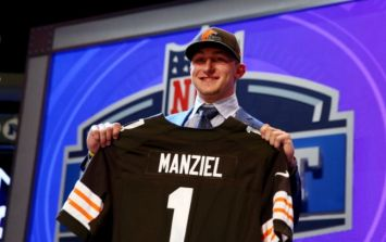 """""""Johnny Football"""" is attempting a comeback following NFL failure"""